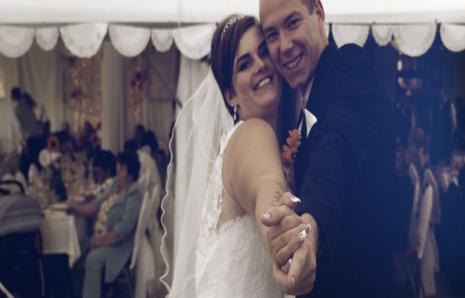 Réka és Olivér esküvője