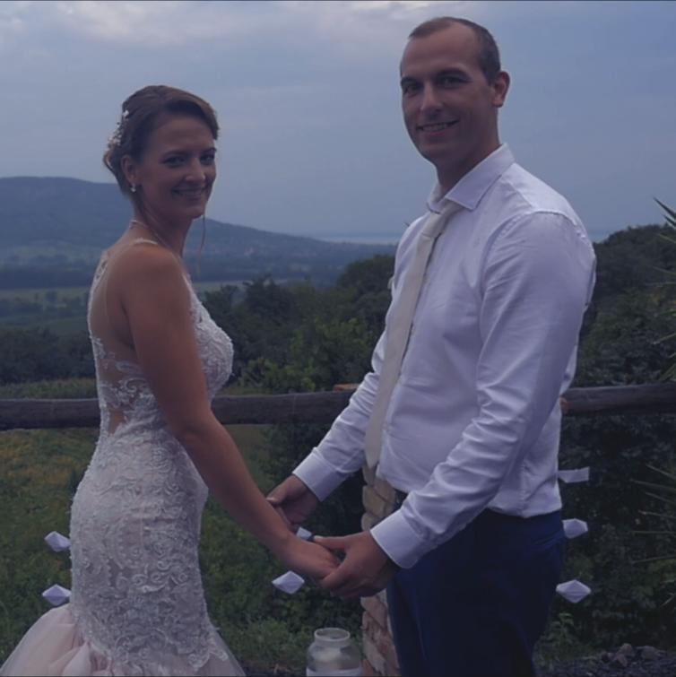 Julcsi és Tomi esküvője